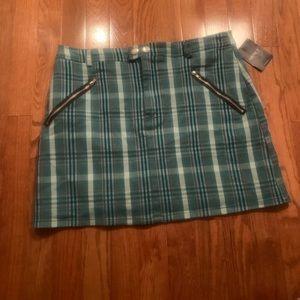 NWT Schoolgirl plaid skirt